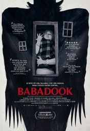 Cartel oficial en español de: Babadook