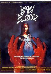 Cartel oficial en español de: Baby Blood