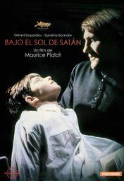 Cartel oficial en español de: Bajo el Sol de Satán