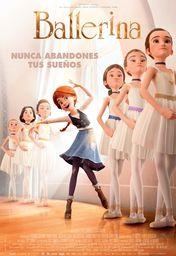 Cartel oficial en español de: Ballerina