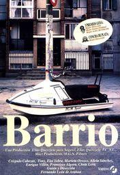Cartel oficial en español de: Barrio