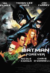 Cartel oficial en español de: Batman Forever
