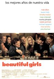 Cartel oficial en español de: Beautiful Girls