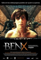 Cartel oficial en español de: Ben X