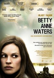Cartel oficial en español de: Betty Anne Waters