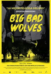 Cartel oficial en español de: Big Bad Wolves