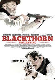 Cartel oficial en español de: Blackthorn (Sin destino)