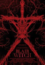 Cartel oficial en español de: Blair Witch
