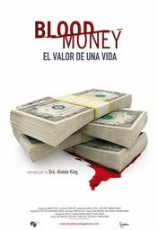 Cartel oficial en español de: Blood money (el valor de una vida)