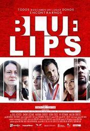 Cartel oficial en español de: Blue Lips