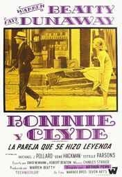 Cartel oficial en español de: Bonnie and Clyde