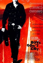 Cartel oficial en español de: Boys Don't Cry
