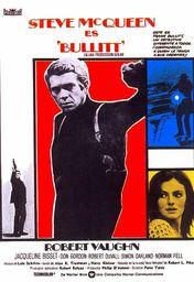 Cartel oficial en español de: Bullitt