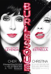 Cartel oficial en español de: Burlesque