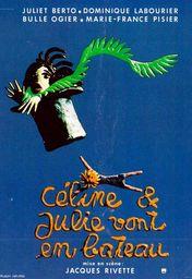 Cartel oficial en español de: Céline y Julia van en barco