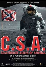 Cartel oficial en español de: CSA: The Confederate States of America