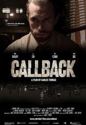Cartel oficial en español de: Callback
