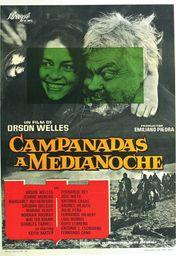Cartel oficial en español de: Campanadas a medianoche