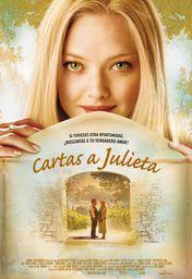 Cartel oficial en español de: Cartas a Julieta