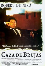 Cartel oficial en español de: Caza de brujas