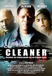 Cartel oficial en español de: Cleaner