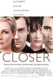 Cartel oficial en español de: Closer