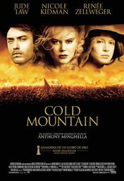 Cartel oficial en español de: Cold Mountain