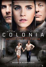 Cartel oficial en español de: Colonia