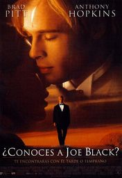 Cartel oficial en español de: ¿Conoces a Joe Black?