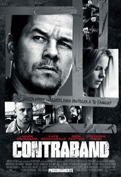 Cartel oficial en español de: Contraband