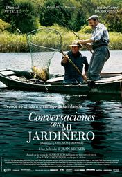 Cartel oficial en español de: Conversaciones con mi jardinero