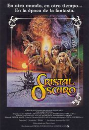 Cartel oficial en español de: Cristal oscuro