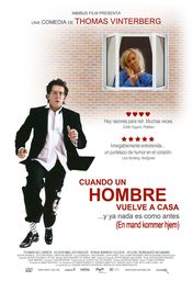 Cartel oficial en español de: Cuando un hombre vuelve a casa
