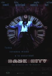 Cartel oficial en español de: Dark City