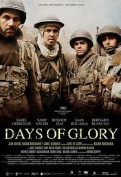 Cartel oficial en español de: Days of Glory (Indigènes)