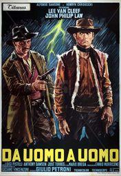 Cartel oficial en español de: De hombre a hombre (1967)