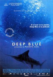 Cartel oficial en español de: Deep blue