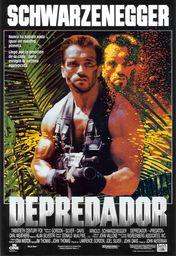 Cartel oficial en español de: Depredador