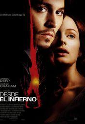 Cartel oficial en español de: Desde el infierno