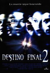 Cartel oficial en español de: Destino final 2