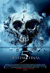 Cartel oficial en español de: Destino final 5