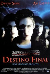 Cartel oficial en español de: Destino final