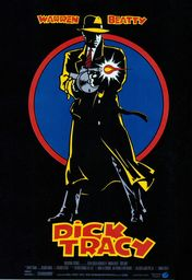 Cartel oficial en español de: Dick Tracy