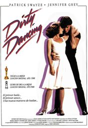 Cartel oficial en español de: Dirty Dancing