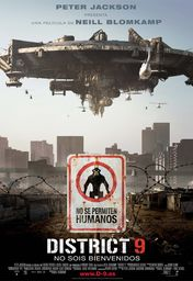 Cartel oficial en español de: District 9