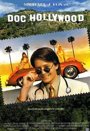 Cartel oficial en español de: Doc Hollywood