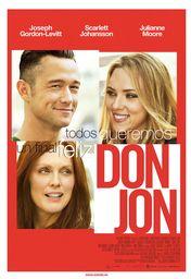 Cartel oficial en español de: Don Jon