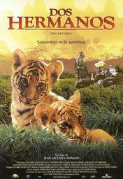 Cartel oficial en español de: Dos hermanos