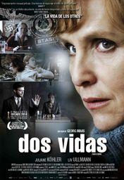 Cartel oficial en español de: Dos vidas