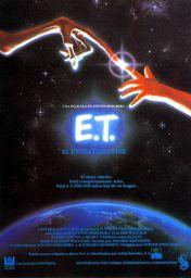 Cartel oficial en español de: E.T. El extraterrestre